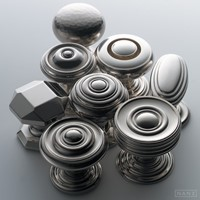 Chrome Doorknobs